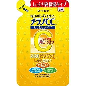 【2018年秋発売】メラノCC 薬用しみ・そばかす対策美白化粧水 しっとりタイプ 高浸透ビタミンC配合誘導体配合 つめかえ用 170mL