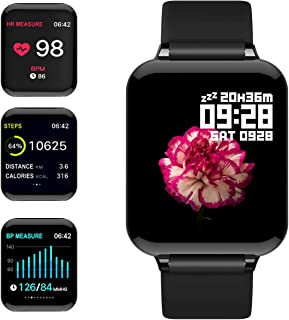 feifuns Smart Watch,Fitness Tracker with Heart Rate/Blood Pressure/Oxygen Monitor,1.3