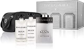 Bvlgari Man Extreme (EDT, 100ml + Shampoo Shower Gel, 75ml + After Shave Balm, 75ml + Pouch)