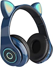 Bluetooth Headphones, Wireless Foldable Headphones Over Ear with Microphone and Volume Control for