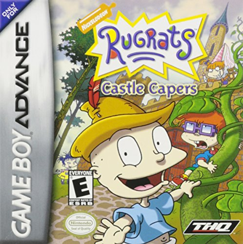 GameBoy Advance - Rugrats: Castle Capers