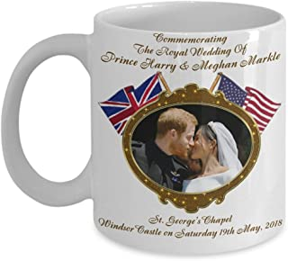 Prince Harry And Meghan Markle Royal Wedding Commemorative Coffee Mug