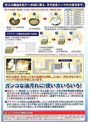 アマテラ ケース販売 廃油処理剤 アマテラ ニューさらさら 1L×12本
