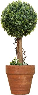 SODIAL(R) Plastic Garden Grass Ball Topiary Tree Pot Dried Plant for Wedding Party Decor(Spherical)