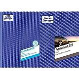 AVERY Zweckform 426 Kassenbuch (A4, nach Steuerschiene 300, von Rechtsexperten geprüft, 100 Blatt) weiß und Fahrtenbuch (für PKW, vom Finanzamt anerkannt, A5, auf 80 Seiten für insgesamt 858 Fahrten)