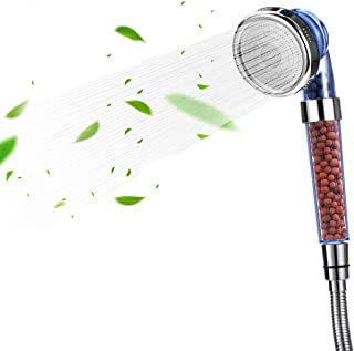 Shower Filter Hand Held Shower Head Ionic Shower Head Help Reduces hair loss.Shower Filter Rainfall Spa Water Saving, Puri...