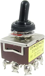 Panel On-On Non Illuminated MULTICOMP 1M31T1B1M1QE Toggle Switch 3PDT 1M31 Series 5 A 50 pieces
