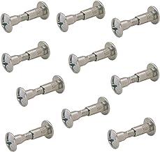 Gedotec Meubelschroeven M6 hulsschroeven verbindingsschroef met huls | houtdikte 37-44 mm | kastverbinder staal verzinkt |...