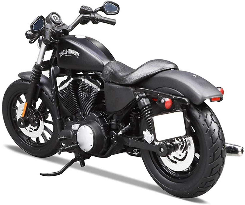 Modellauto Motorradmodell 1 12 Harley 883 Straenlokomotive Simulation Statische Legierung Motorradmodellreihe Dekorative Geschenke