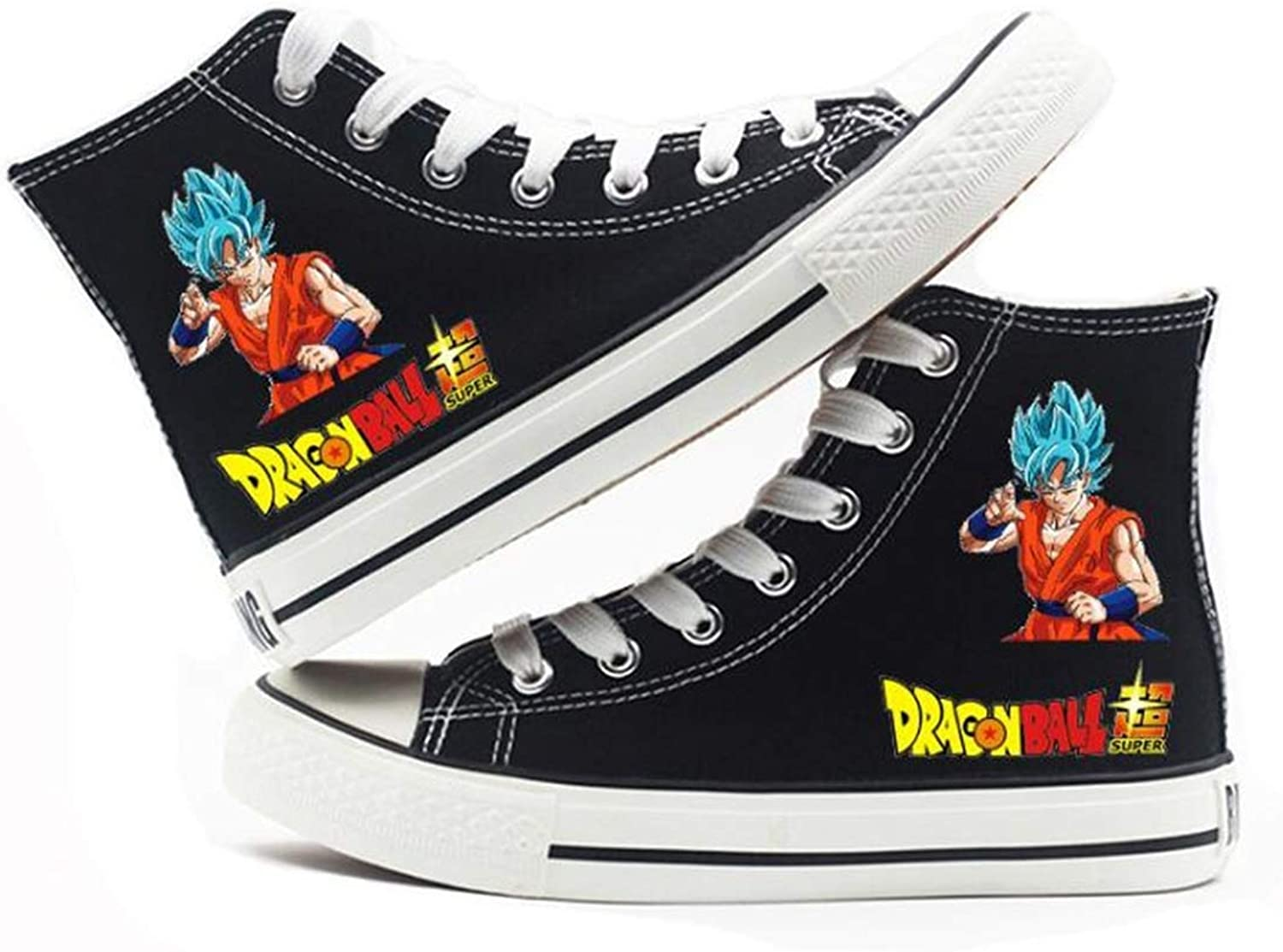 GO2COSY Anime Dragon Ball Z Cosplay Goku Sneakers Canvas shoes Womens' Size