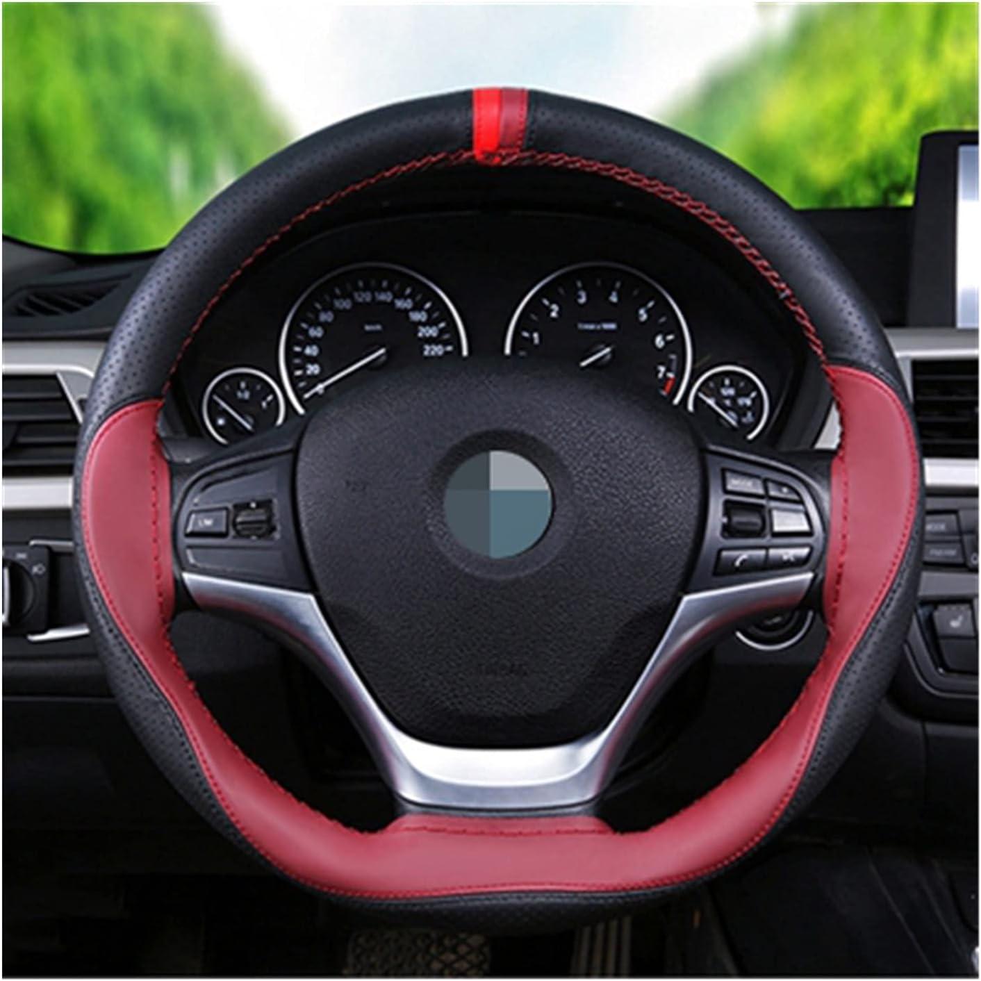 SIEYS DIY 38 cm Universal Soft Fiber Leather Anti In Lowest price challenge a popularity Steering-Wheel