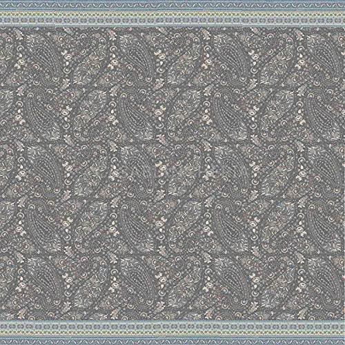 Bassetti Tosca G1 9314373 Serviette en Coton Grigio 350 x 270 cm