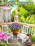 Jardín Secreto : Libro de Colorear: Un libro de colorear para adultos relajante y antiestrés con 30 ilustraciones de hermosos jardines
