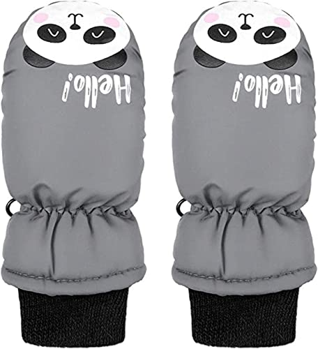 new arrival OPTIMISTIC Kids Snow Mittens sale Thicken Warm Gloves outlet sale Cute Cartoon Windproof Waterproof Winter Gloves for 3-6 Years outlet online sale