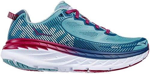 Hoka One W Bondi 5 Aquifer Vintage Indigo Running chaussures femmes 6.5