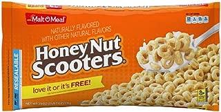 (2 Pack) Breakfast Cereal, Honey Nut Scooters, 39 Oz Malt-O-Meal