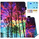 7 inc rca tablet case - Dteck Tablet Universal Case 7 Inch, Slim Wallet Stand Folio Cute Case for Samsung Galaxy Tab/HDX 7 /HD 7/ Oasis/Onn/Lenovo/Dragon Touch/Vankyo MatrixPad/Android Tablet 7 Inch, Beautiful Sky