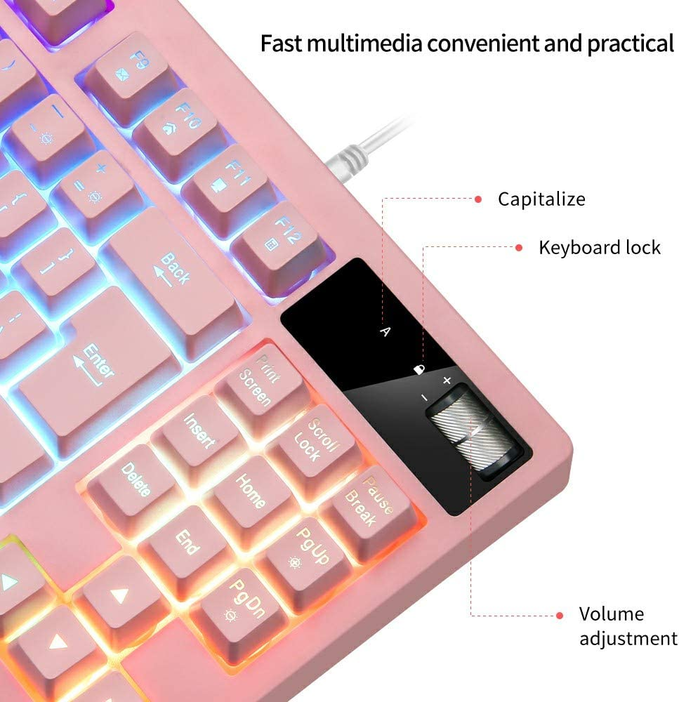 fast shipping and best service RGB Gaming Keyboard and Mouse Combo ...