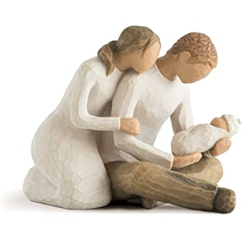 Willow Tree Home Figurine Expectant Mother /& Father 26252 in a Branded Gift Box