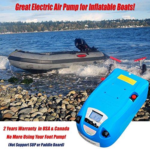 Seamax Blue Portable 12V Electric Air Pump 1 - 8.5...