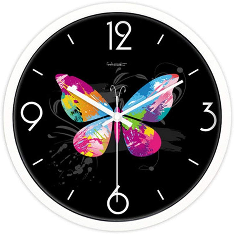 minoristas en línea YNMB KS Reloj Reloj Reloj de Parojo Pastoral Salón silencioso Reloj Reloj de Cuarzo de Moda Creativa blancoo, Talla   M  Todo en alta calidad y bajo precio.