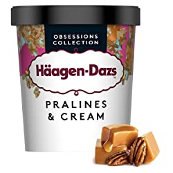 Häagen-Dazs Pralines & Cream Ice Cream, 460 ml (Frozen)
