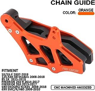 JFG RACING CNC Rear Chain Guide Guard Slider For 125-530 2008-2015 EXC EXC-F SX SX-F XC XC-F XC-FW XC-W