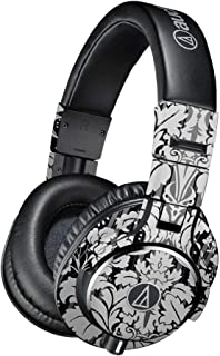 Skin Compatible with Audio-Technica ATH-M40x Headphones - Floral Retro  MightySkins Protective, Durable, and Unique Vinyl Decal wrap Cover   Easy to Apply, Remove, and Change Styles   Made in The USA