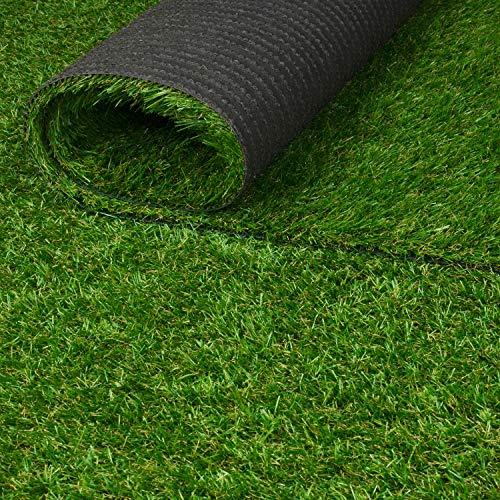 Kunstrasenteppich 35 mm- Qualität aus Belgien wasserdurchlässig strapazierfähig (170 x 200 cm)