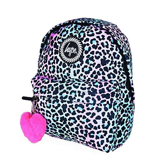 HYPE Pastel Leopard POM POM Backpack