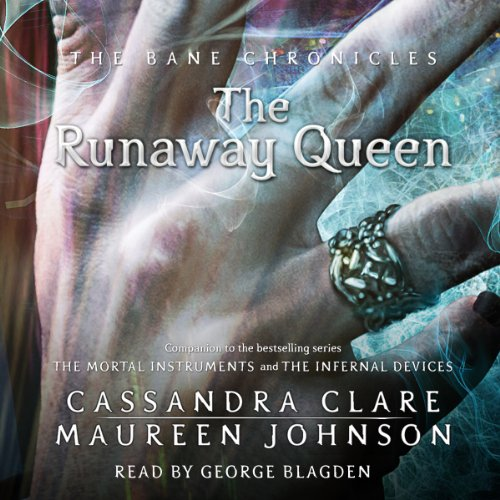 The Runaway Queen audiobook cover art