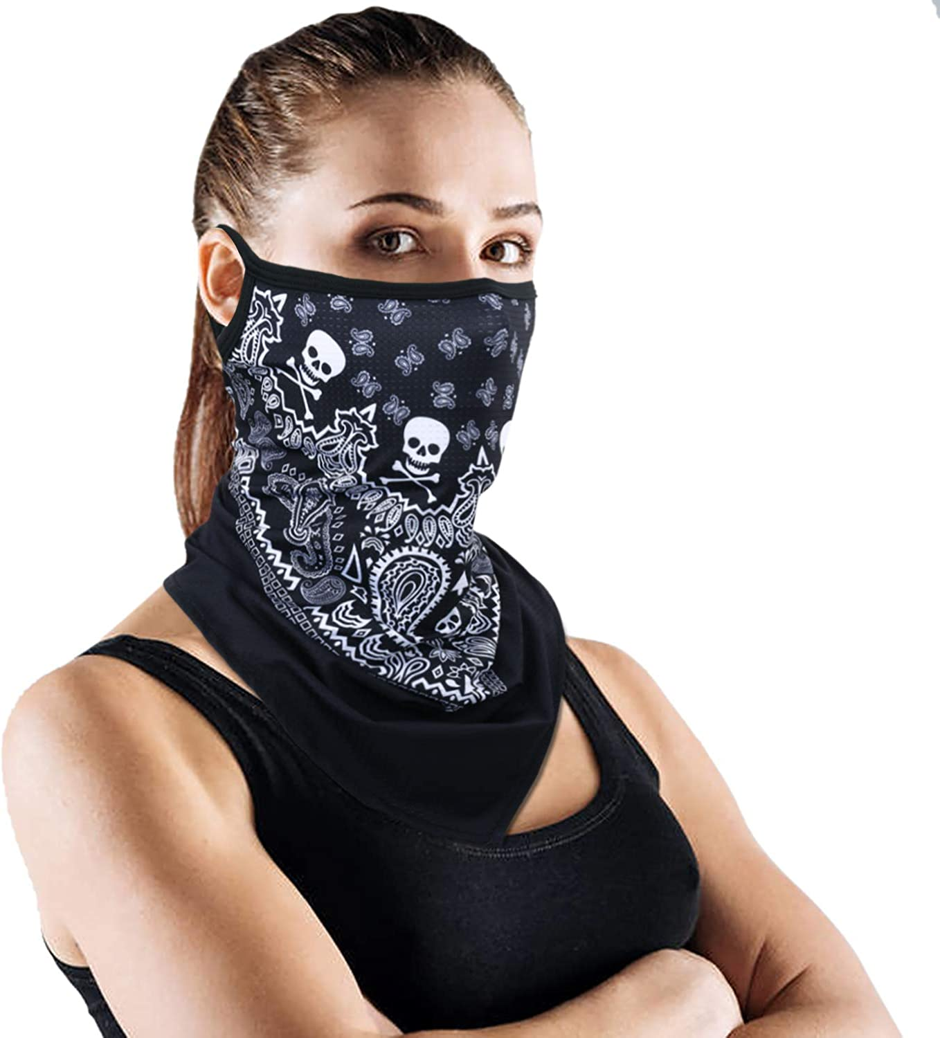 YOSUNPING -Colorful Paisley Pattern Neck Brand Cheap Sale Venue Face Cy for Gaiter Mask Outlet sale feature