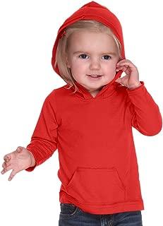 Kavio! Infants Jersey RawEdge High Low Long Sleeve Hoodie w.Pouch