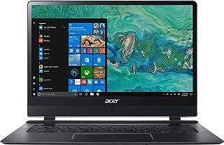 "Acer Swift 7 SF714-51T-M4PV Ultra-Thin 8.98mm Laptop, 14"" Full HD Touch, 7th Gen Intel Core i7-7Y75, 8GB LPDDR3, 256GB PCI..."