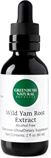 Greenbush Wild Yam Extract, Liquid Supplement for Menopause (2 Ounces)