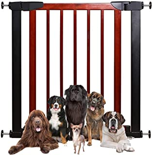 Telescopic Fence Baby Gates for Stairs Guardrail Child Isolation Gate Bar Pet Free Punching Fence Dual Lock Self Closing