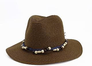 HaiNing Zheng Fashion Summer Sun Hat Casual Vacation Panama Straw Hat Women Wide Brim Beach Jazz Hats Foldable Chapeau