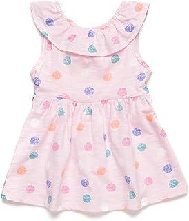 فستان بناتي وردي متعدد الألوان من نيرسري رافيم 18 م