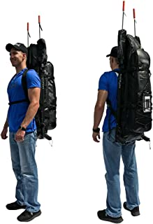 MAKO Spearguns Spearfishing Longfins Freediving Backpack with insulated cooler compartment
