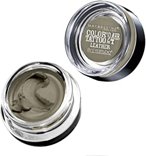 2 of Maybelline New York Eye Studio Color Tattoo Leather 24 HR Cream Gel Eyeshadow, Deep Forest, 0.14 Ounce (Pack of 2)