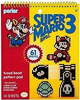 Perler Super Mario Bros. 3 Fused Bead Pattern Pad-super Mario Bros. 3