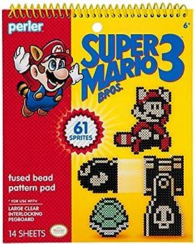 Perler 80-22841 Beads Super Mario Bros 3 Fuse Bead Pattern Pad 14pgs