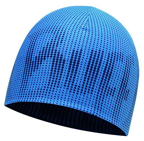 Buff Coolmax Reversible HAT R Mütze, Deep Logo Dark Navy-Blue, One Size