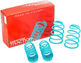 Godspeed LS-TS-KA-0002 Traction-S Performance Lowering Springs, Reduce Body Roll, Improved Handling, Set of 4