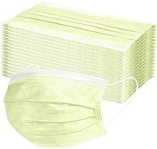 MASZONE 90pcs Disposable Face Masks, Dustproof, Elastic Earloop, Safety Mask