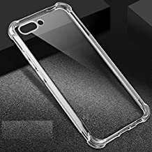 Dashmesh Shopping Shockproof Soft Back Case Cover for Honor View 10 (Transparent)