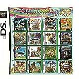 208 en 1 compilaciones de tarjetas NDS Game Pack, tarjeta de juego Super Combo Multicart DS para NDS, NDSL, NDSi, NDSi LL / XL, 3DS, 3DSLL / XL, New 3DS, 2DS, New 2DS