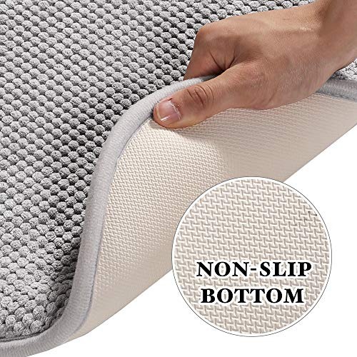 H.VERSAILTEX Chair Cushion Memory Foam Chair Pads with Ties Honeycomb Pattern Nonslip Rubber Back Rounded Square 16