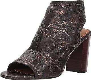 Patricia Nash Women/'s Battista Casual Western Slides Mules Black Suede $149