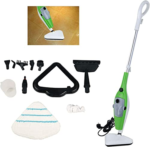 popular Bowoshen Steam Mop Cleaner 10-in-1 Multi-Function sale Steamer 1300W with Convenient 2021 Detachable Handheld Unit for Cleaning Hardwood/Tiles/Carpet/Kitchen/Furniture/Cloths sale